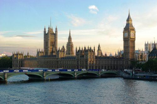 London Parliament At Sunset