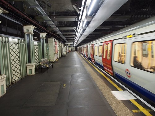 london underground  subway station  metro