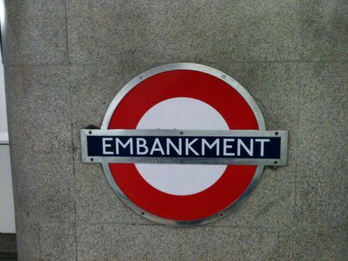 London Underground Embankment