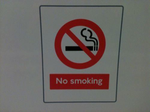London Underground No Smoking Sign