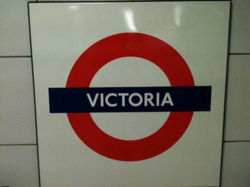 London Underground Victoria