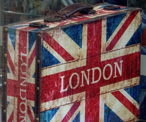 London Union Jack Briefcase