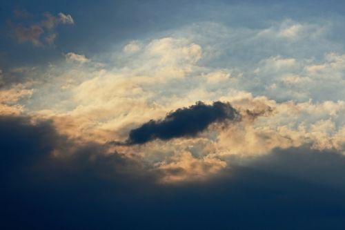 Lone Dark Cloud