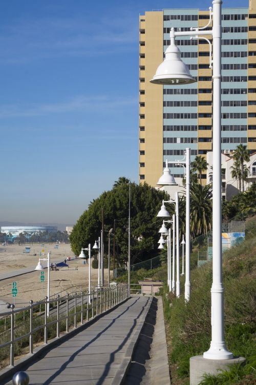 long beach ca coastline beach access