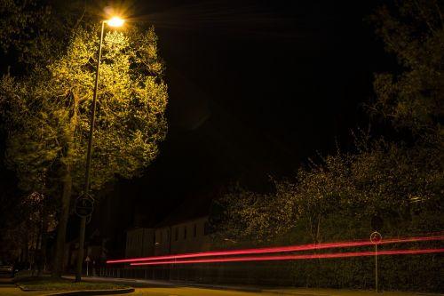 long exposure night at night