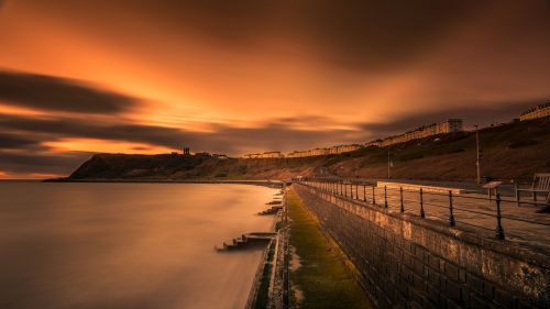 long exposure scarborough yorkshire