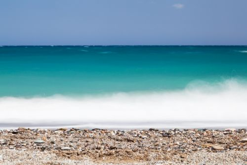Long Exposure Sea Waves