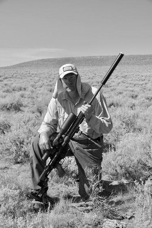 long range shooting  nomad rifleman  long range rifle