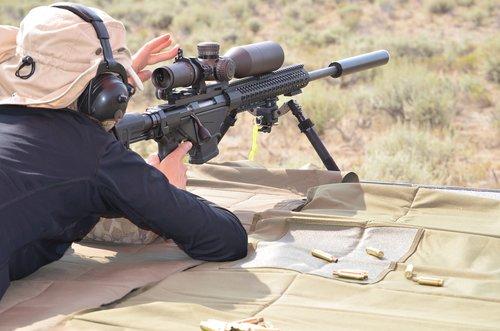 long range shooting  nomad rifleman  rifle