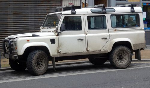 Long Wheel Base Land Rover Jeep