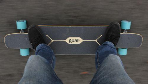 longboard longboarder goat