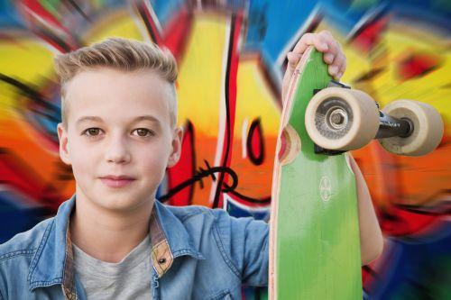 longboard skateboarder skateboard