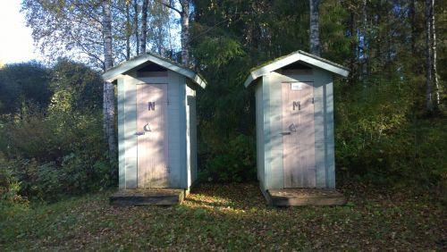 loo toilet outdoor