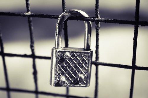 look  silver lock  locked