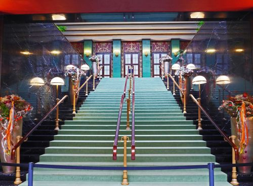 look at stairs emergence carpet