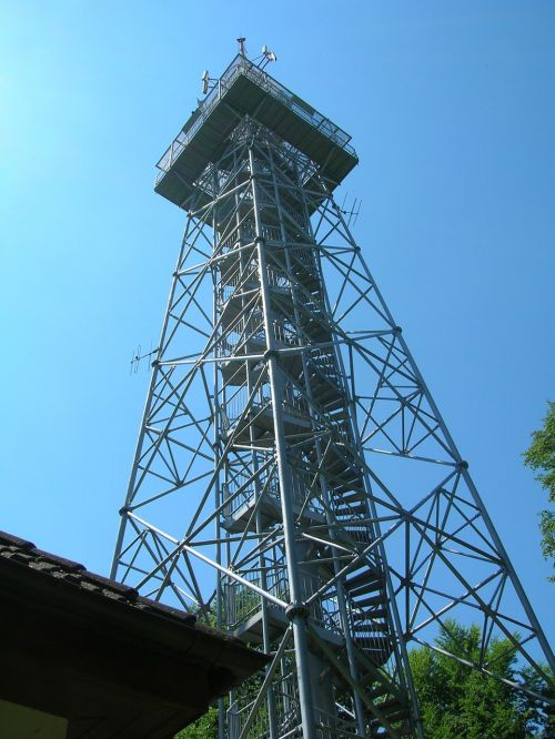lookout transmitter tower
