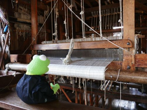 loom weave thread