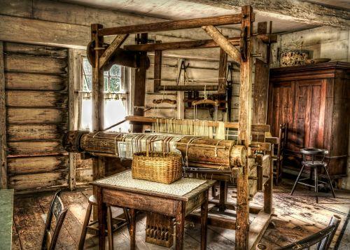 loom weave historic