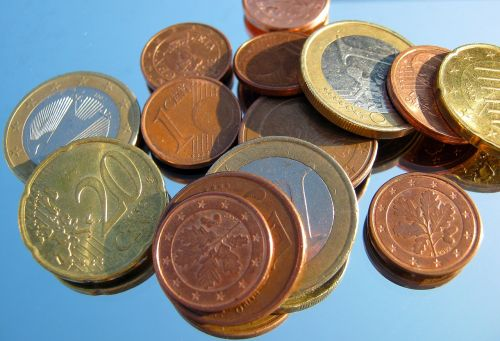 loose change penny coins