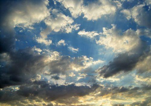 Loose Cloud In Blue Sky
