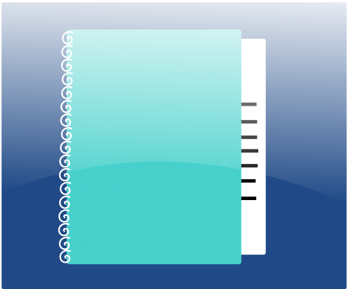 loose-leaf agenda ring binder