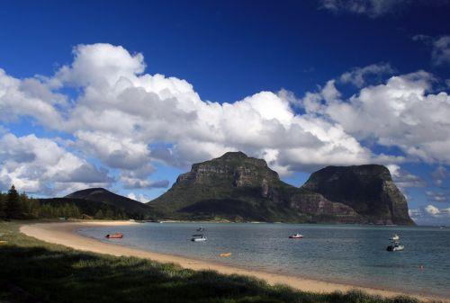 lord howe island australia landscape