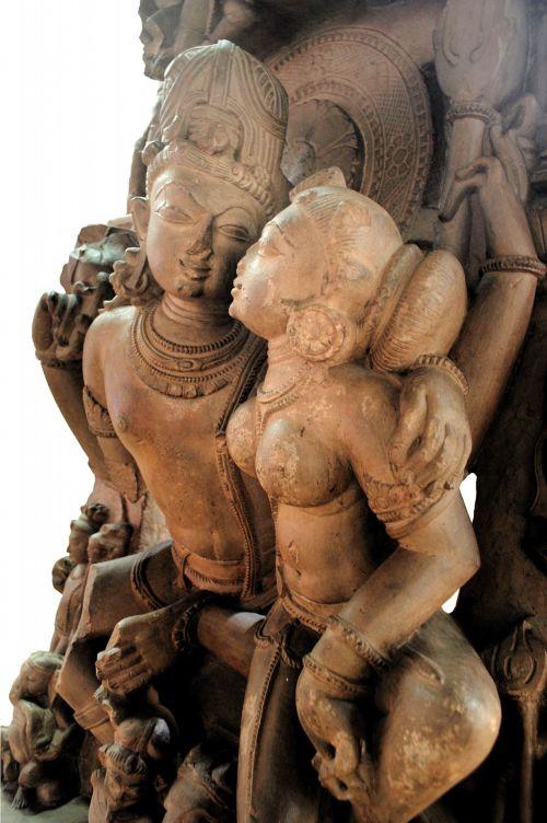 Lord Vishnu And His Consort