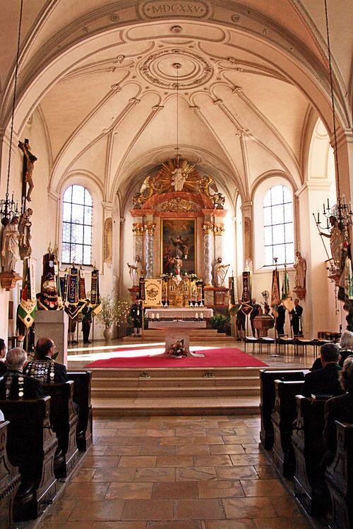 lords table church saint jakob