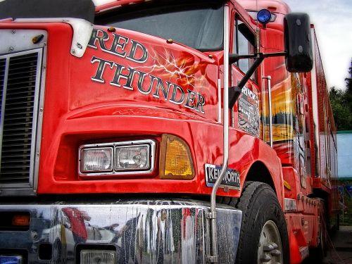 tapetai,fonas,raudonas amerikietiškas sunkvežimis,sunkvežimis,raudona,sunkvežimis,amerikietis