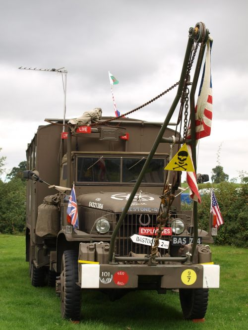 lorry army wartime