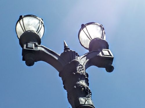 los angeles street lamps street light