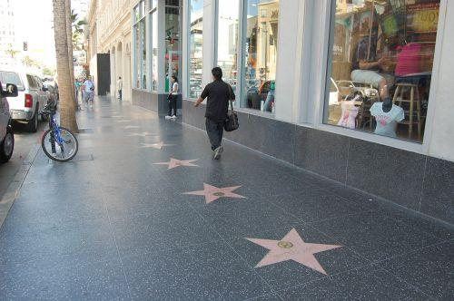 los angeles hollywood street