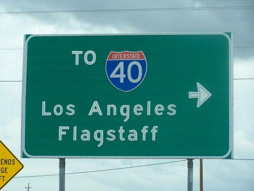 angelai, naudoti flagstaff, Kalifornija, amerikietis, angelai, kelias