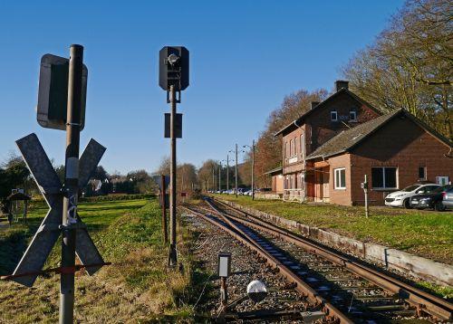 lost place shut down railway station