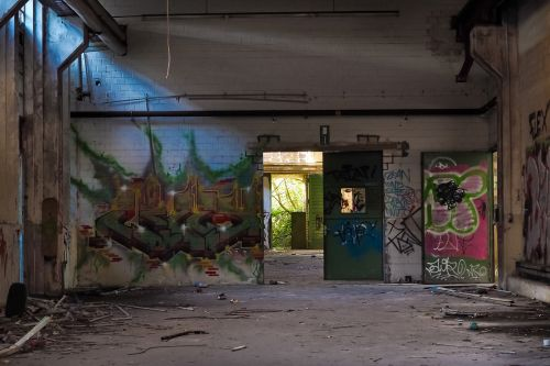lost places factory old