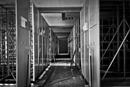 lost places office building destroyed