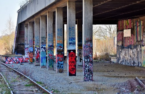 lost places  abandoned train station  railway station