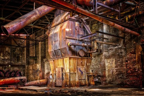 lost places  factory  industry