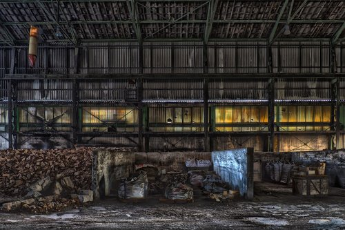 lost places  warehouse  decay