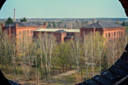 lost places  barracks  institute