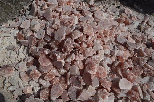 lots of rock salt  rock  salt