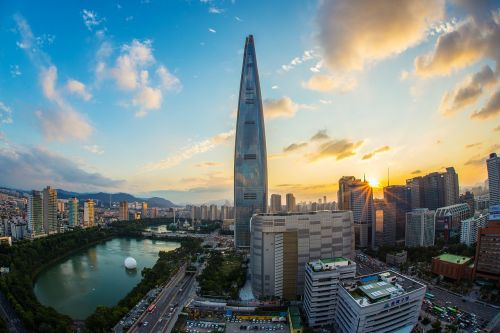 lotte world tower seoul republic of korea