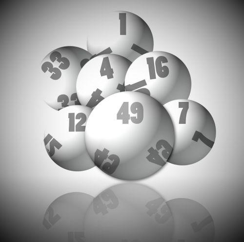 lotto balls gambling