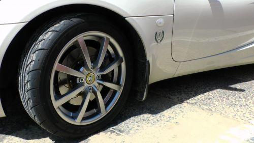 Lotus Car Front Wheel