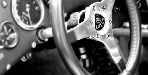 Lotus Racing Car Interior