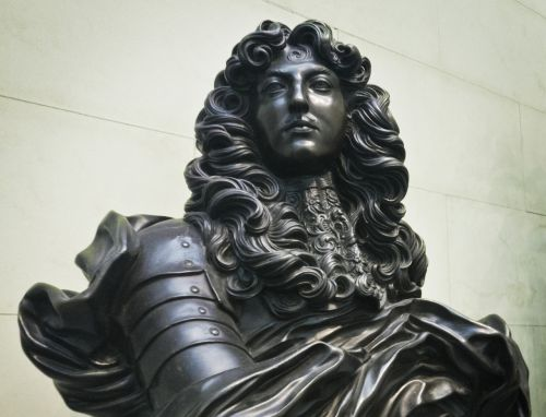 louis xiv bust statue