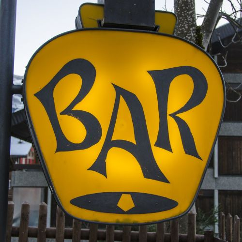 lounge club sign