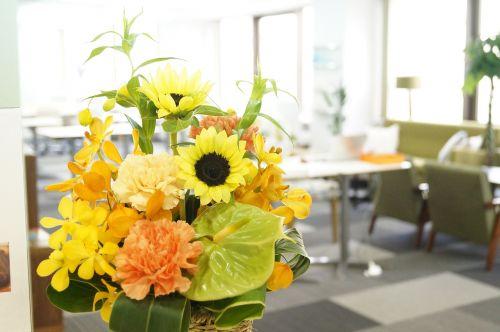 lounge reception flower