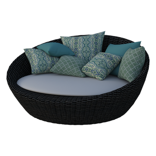 loungers  pillows  seat