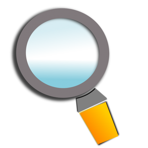 loupe magnifying glass magnify